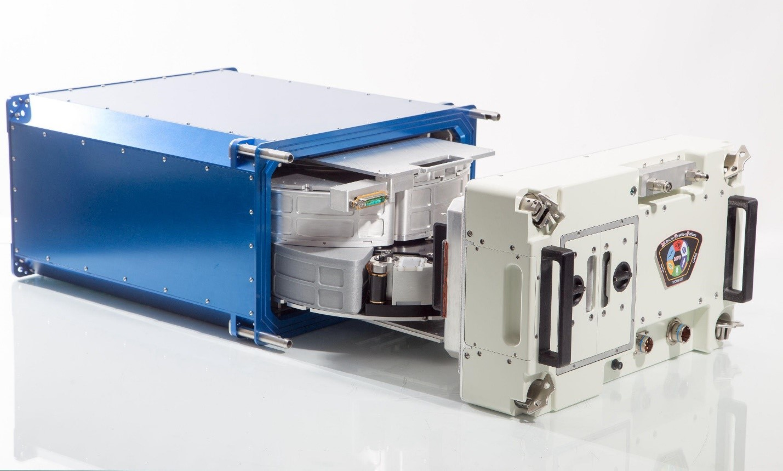 Platforma MVP (The Multi-use Variable-g Platform) przeznaczona do wykorzystania w eksperymencie MVP Cell-03 (Źródło: Techshot Inc.)