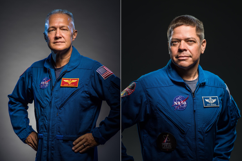 Astronauci Douglas Hurley i Robert Behnken (Źródło: NASA)